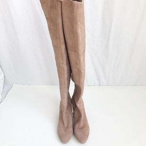 Louise et Cie Vernon suede  over the knee boot